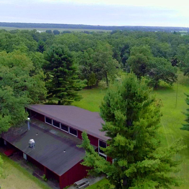Spring Lake Wisconsin Dells Drone Footage