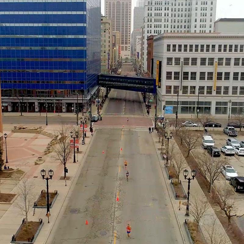 Milwaukee Marathon 2019 Drone Video